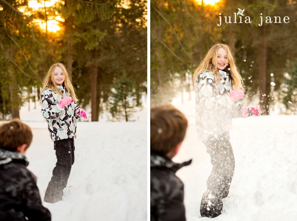 Trumbull Connecticut Kids Photography in the snow, by Connecticut Family Photographer Julia Jane Studios