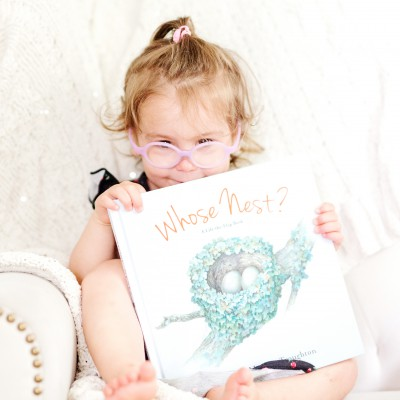 Toddler Book Review: Whose Nest