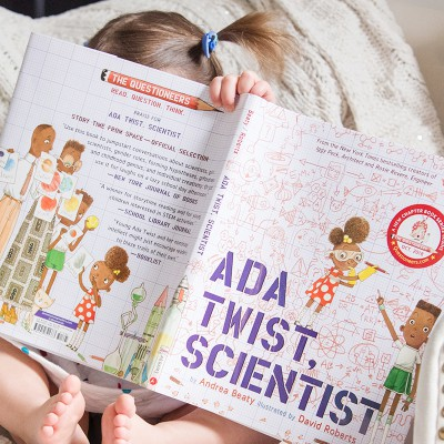 Toddler Book Review: Ada Twist, Scientist