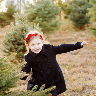 Winter Family Session in Connecticut: