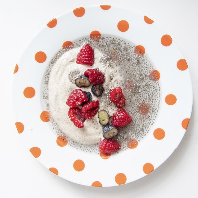 Chia Seed pudding for breakfast!