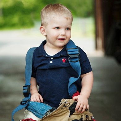 The Littlest Fireman: Landon