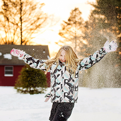 Snowy Sibling Session: