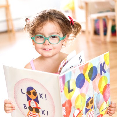 Toddler Book Review: Look
